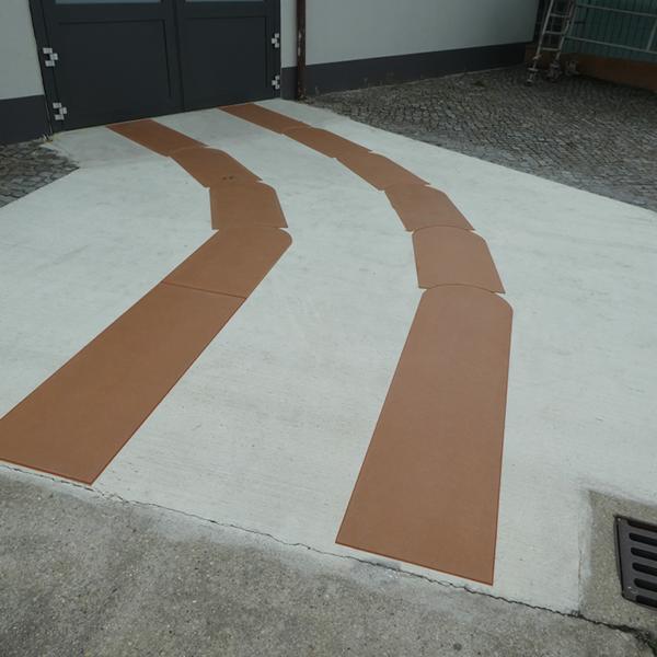 STELO-preg-tiles, Rampenheizung